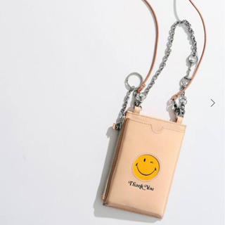 アパルトモンドゥーズィエムクラス(L'Appartement DEUXIEME CLASSE)のGOOD GRIEF ! Smiley マルチパースケース ポーチ ナチュラル(コインケース)