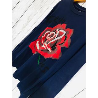 ハリウッドランチマーケット(HOLLYWOOD RANCH MARKET)の東京超特大薔薇。極限定最強映えHRロンTドルマン レジェンダ Y-3 シャリーフ(Tシャツ/カットソー(七分/長袖))