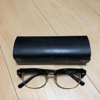 キャリー(CALEE)のCALEEキャリー メガネ ブロータイプ made in Japan (鯖江)(サングラス/メガネ)