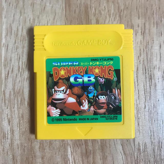 ゲームボーイ(ゲームボーイ)のスーパードンキーコングGB SUPER DONKEY KONG GB エンタメ/ホビーのゲームソフト/ゲーム機本体(携帯用ゲームソフト)の商品写真