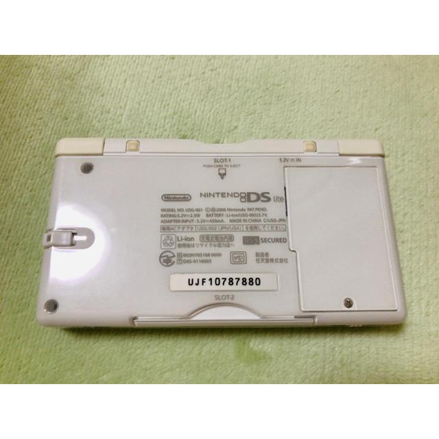 ニンテンドーDS(ニンテンドーDS)のニンテンドーDS  Lite ソフト付き エンタメ/ホビーのゲームソフト/ゲーム機本体(携帯用ゲーム機本体)の商品写真