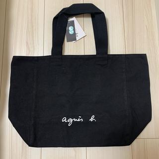 agnes b. - 新品未使用 アニエスベー  トートバッグ Lサイズ ブラック