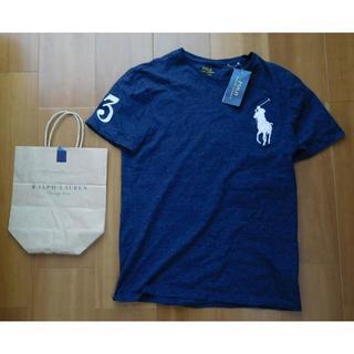 POLO RALPH LAUREN - 超美品 ポロラルフローレン Polo ビッグポニーロゴ Tシャツ