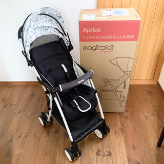 Aprica - アップリカ B型ベビーカー マジカルエアープラスAE クラウドスターBK
