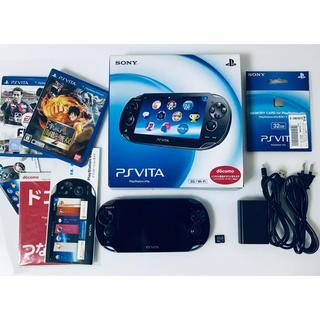 PlayStation Vita - PlayStation®Vita クリスタル・ブラック 3G/Wi-Fiモデル…