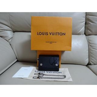ルイヴィトン(LOUIS VUITTON)のルイ ヴィトン エピ チェーン コンパクト ウォレット サイフ M63518(折り財布)