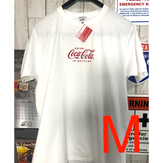 【新品タグ付】 コカコーラ フルーツオブザルーム 半袖 Tシャツ Mサイズ(Tシャツ/カットソー(半袖/袖なし))