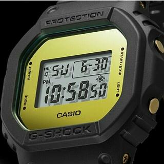 ジーショック(G-SHOCK)の【新品】G-SHOCK DW-5600BBMB-1JF ゴールドミラー(腕時計(デジタル))