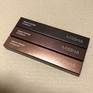 ミシャ(MISSHA)のミシャ アイブロウ ティント 3本セット(アイブロウペンシル)