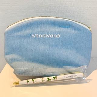 ウェッジウッド(WEDGWOOD)のWEDGWOOD ポーチ & ボールペン(ポーチ)
