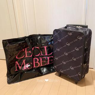 CECIL McBEE - 非売品 ❤︎ CECIL McBEE キャリーバッグ + ビッグバッグ 美品