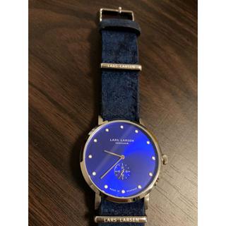 ダニエルウェリントン(Daniel Wellington)のエルラーセン ラースラーセン 腕時計(レザーベルト)