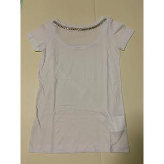 サカイラック(sacai luck)のsacai luck ビジューTシャツ(Tシャツ(半袖/袖なし))