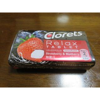 Clorets クロレッツ Relax TABLET ストロベリー&ブルーベリー(口臭防止/エチケット用品)