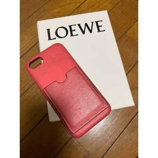 ロエベ(LOEWE)のLOEWE iPhone8ケース(iPhoneケース)