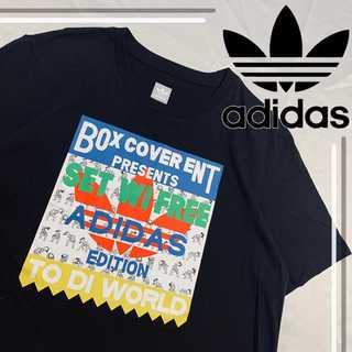adidas - 未使用品 adidas orijinals デカロゴ トレフォイル tシャツ