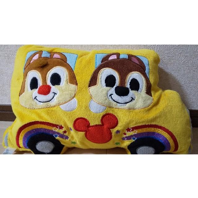 Disney(ディズニー)の香港ディズニーランド  チップ&デール  クッション エンタメ/ホビーのおもちゃ/ぬいぐるみ(キャラクターグッズ)の商品写真