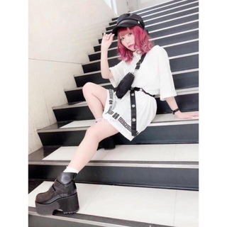 Ank Rouge - Ank rouge 白 中華風 囍字紋 ワンピース 新品