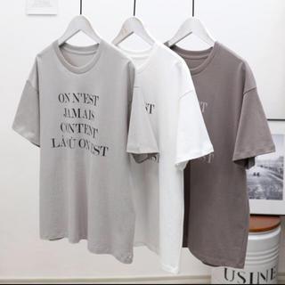イエナ(IENA)の再入荷 新品 イエナ ロゴ Tシャツ(Tシャツ(半袖/袖なし))