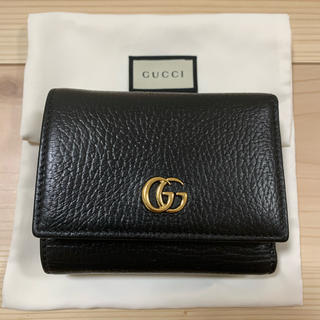 Gucci - GUCCI プチマーモント 三つ折り財布 ウォレット