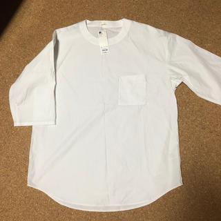 ジーユー(GU)のジーユー  新品ビッグプルオーバーシャツ L(シャツ)