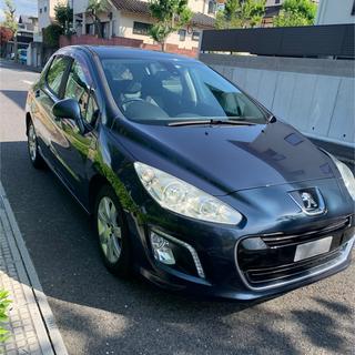 Peugeot - プジョー308 プレミアム 6MT 1600ccターボ ETC ナビ TV