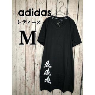 adidas - アディダス Tシャツワンピース