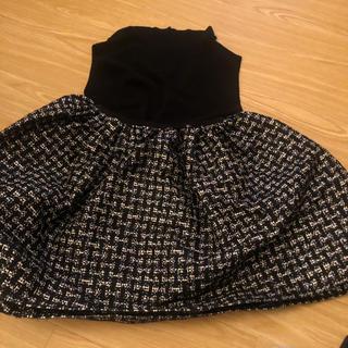 レッドヴァレンティノ(RED VALENTINO)のレッドバレンチノ ミニスカート 美品 S 38(ミニスカート)