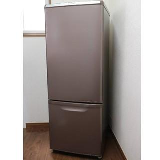 パナソニック(Panasonic)の2017年製Panasonic冷凍冷蔵庫168lブラウン(冷蔵庫)