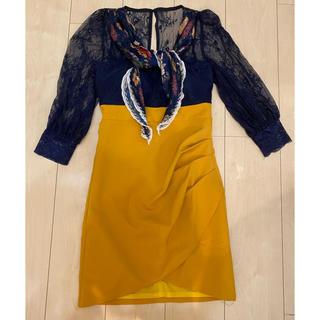 ジュエルズ(JEWELS)の美品 ♡ Jewels ジュエルズ レース キャバクラ キャバ嬢 ドレス (ミニドレス)