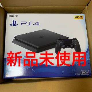 PlayStation4 - PlayStation4 本体 ジェットブラック 500GB 新品未使用
