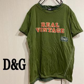 ドルチェアンドガッバーナ(DOLCE&GABBANA)のD&G 半袖Tシャツ REAL VINTAGE(Tシャツ/カットソー(半袖/袖なし))