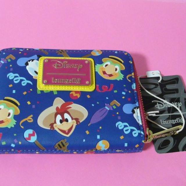 Disney(ディズニー)のLoungefly ラウンジフライ ドナルド パンチート ホセキヤリオカ 財布 エンタメ/ホビーのおもちゃ/ぬいぐるみ(キャラクターグッズ)の商品写真