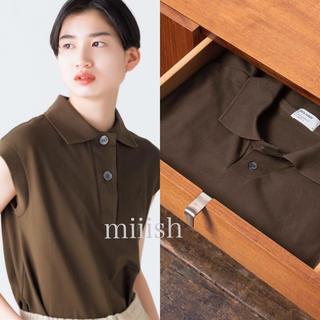マーガレットハウエル(MARGARET HOWELL)の2020 新品タグ付 マーガレットハウエル×フレッドペリー コラボ ポロシャツ(ポロシャツ)