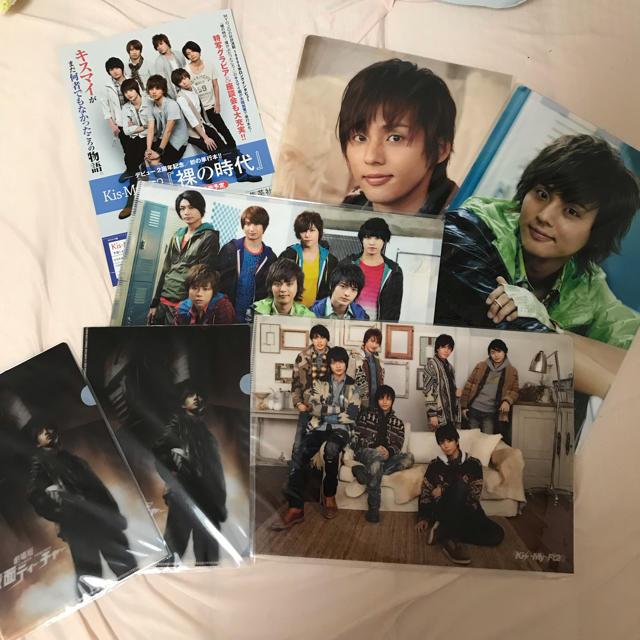 Kis-My-Ft2(キスマイフットツー)のkis-my-ft2 藤ヶ谷太輔 クリアファイル エンタメ/ホビーのタレントグッズ(アイドルグッズ)の商品写真