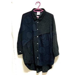 スカラー(ScoLar)のスカラー 刺繍シャツ(シャツ/ブラウス(長袖/七分))