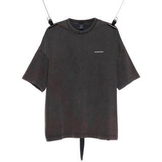 ピースマイナスワン(PEACEMINUSONE)のPeaceminusone T-SHIRT #1 CHARCOAL GREY(Tシャツ/カットソー(半袖/袖なし))