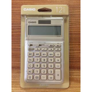 CASIO - カシオ CASIO ★ 電卓 計算機 ★ JF-S200-GD-N