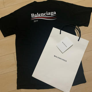 Balenciaga - balenciaga キャンペーン ロゴ Tシャツ xs