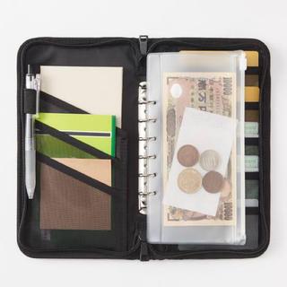 ムジルシリョウヒン(MUJI (無印良品))の無印良品 パスポートケース 紺 (ファイル/バインダー)