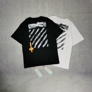 OFF-WHITE - オフホワイト Tシャツ 男女兼用2着8000円3着11000円 82B234