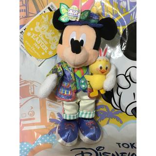 ミッキーマウス(ミッキーマウス)のディズニー イースター 2020  ミッキー   ぬいぐるみ バッジ(キャラクターグッズ)
