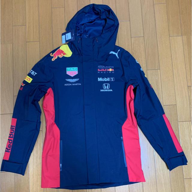 PUMA(プーマ)のプーマ レッドブル レイン ジャケット AMRBA チーム レーシング F1 スポーツ/アウトドアのスポーツ/アウトドア その他(その他)の商品写真
