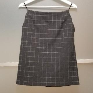 テチチ(Techichi)のテチチ スカート グレー(ひざ丈スカート)