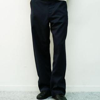 """アンユーズド(UNUSED)のorder loose twill pants """"Navy""""(スラックス)"""