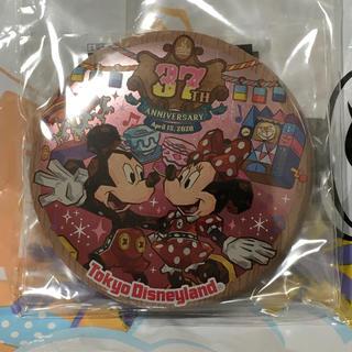 ディズニー(Disney)のディズニーランド 37周年 缶バッジ(キャラクターグッズ)