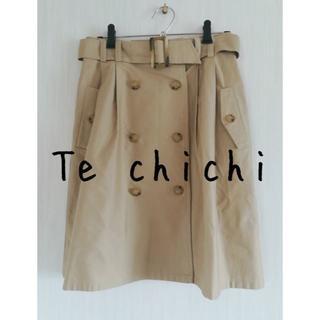 テチチ(Techichi)のTe chichi テチチ ウエストリボン トレンチスカート(ひざ丈スカート)