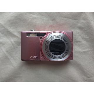 リコー(RICOH)のRICOH CX6 ピンク(コンパクトデジタルカメラ)