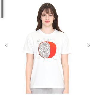 Design Tshirts Store graniph - 新品未使用 グラニフ りんごかもしれないTシャツ