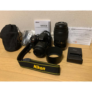 ニコン(Nikon)のNikon D5300 ダブルズームキット ブラック(デジタル一眼)